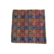 Sanganeri Patchwork Cushion Cover