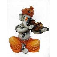 Ganesha Playing Guitar