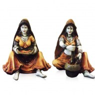 Set of 2 Ladies with Mirchi and Supdi
