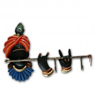 Wrought Iron Krishna Key Holder