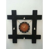 Shield Wall Clock Design