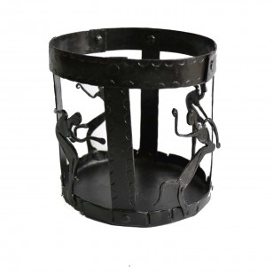 Round Candle stand/pen stand