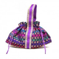 Boat Shaped Potli Bag Large