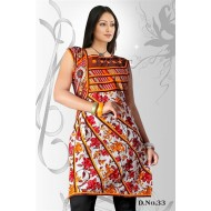 White red casual Wear readymade kurti