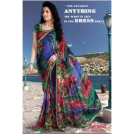 Printed Casual Wear Georgette Saree