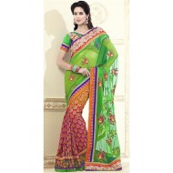 Designer Embroidered Party Wear Saree