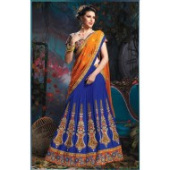 Designer Wedding Bridal Embroidered Lehenga Choli
