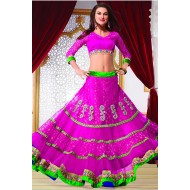 Wedding Embroidered Lehenga Choil