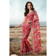 Embroidered Designer Bridal Saree