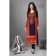 Sushmita Sen Designer Anarkali Dress Material