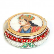 Tea coaster with rajpooti traditional print