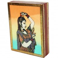 Rajput princess bani thani gemstone jewellery box