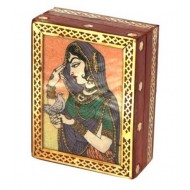 Pretty princess bani thani jewellery box