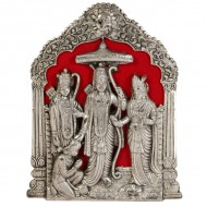 Oxidised ram darbaar wall hanging